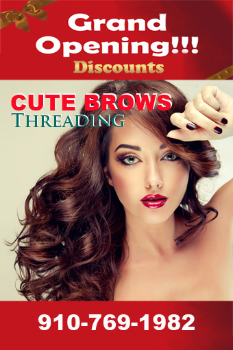 Eyebrows Threading Wilmington NC